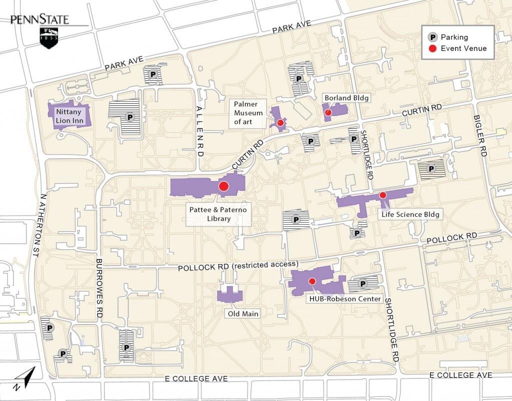 Symposium Map