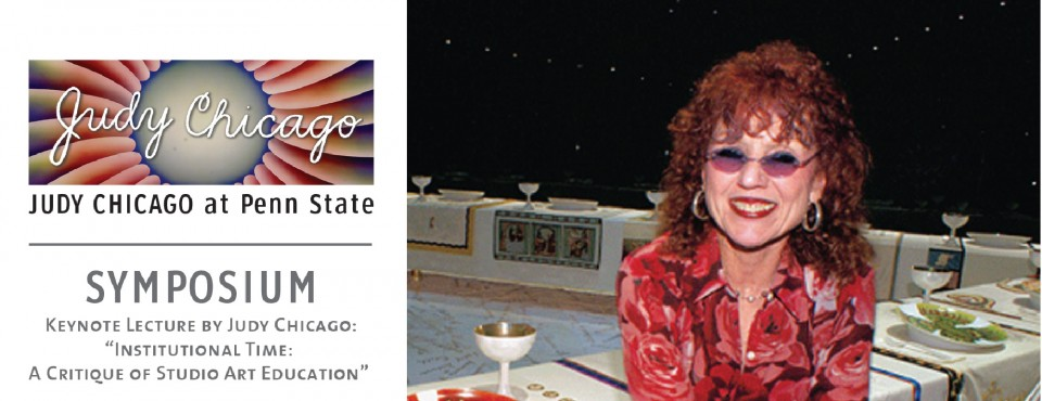Register for Judy Chicago Symposium 2014